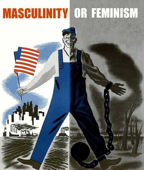 MASCULINITY OUTLAWED